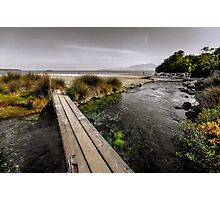 Wooden bridges Photographic Print