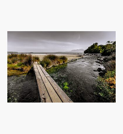 Wooden bridges Photographic Print