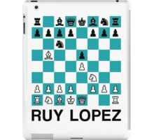 Ruy Lopez iPad Case/Skin