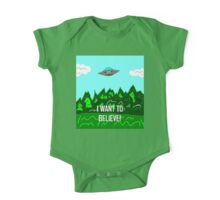 The Truth Is Out There!  One Piece - Short Sleeve