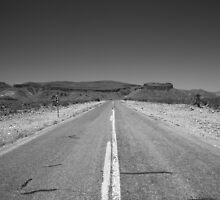 Route 66 in Arizona by Frank Romeo