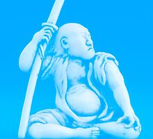 Blue Samurai by 2mdesigns
