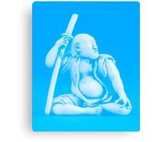 Blue Samurai Canvas Print