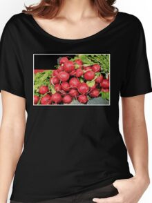 Red Radish Harvest Women's Relaxed Fit T-Shirt