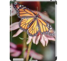 Monarch Butterfly on Purple Coneflower iPad Case/Skin