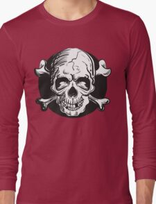 Skull illustration Long Sleeve T-Shirt