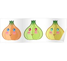Cutie onions Poster