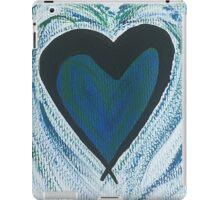 Blue Green Heart iPad Case/Skin