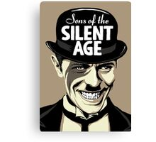 Sons of the Silent Age Canvas Print