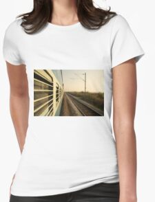 Eastbound  Womens Fitted T-Shirt