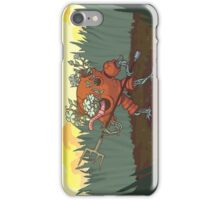 Worm Knight iPhone Case/Skin
