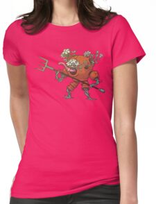 Worm Knight Womens Fitted T-Shirt