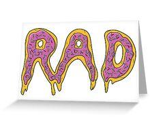 Radoughnuts Greeting Card