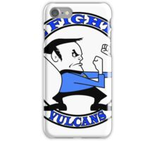 The Fighting Vulcans with logo iPhone Case/Skin