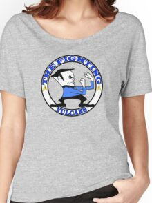 The Fighting Vulcans with logo Women's Relaxed Fit T-Shirt