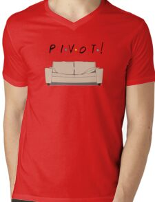 Friends Pivot Mens V-Neck T-Shirt