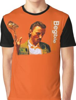 Begbie throws Glass of Beer - Scene from Trainspotting T-Shirt Graphic T-Shirt