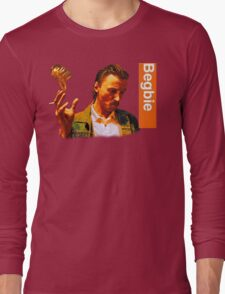 Begbie throws Glass of Beer - Scene from Trainspotting T-Shirt Long Sleeve T-Shirt