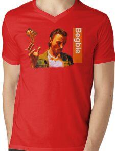 Begbie throws Glass of Beer - Scene from Trainspotting T-Shirt Mens V-Neck T-Shirt