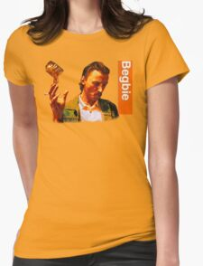 Begbie throws Glass of Beer - Scene from Trainspotting T-Shirt Womens Fitted T-Shirt