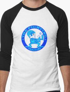 The Fighting Programs with Logo Men's Baseball ¾ T-Shirt