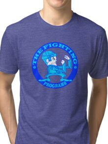 The Fighting Programs with Logo Tri-blend T-Shirt
