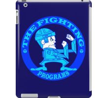The Fighting Programs with Logo iPad Case/Skin
