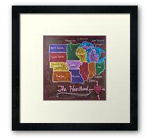 The Heartland Framed Print