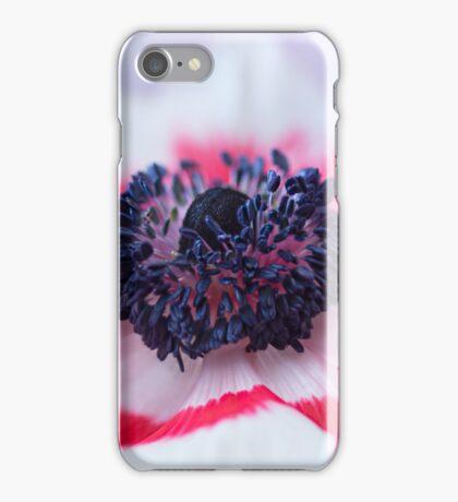 Anemone coronaria De Caen iPhone Case/Skin