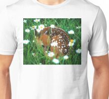 Fawn & Wildflowers Unisex T-Shirt