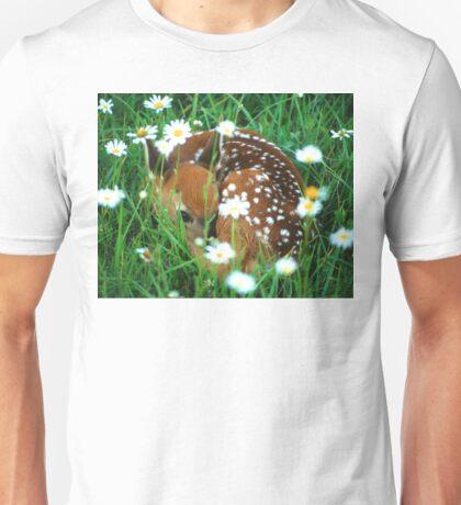 Fawn & Wildflowers Unisex T-Shirt