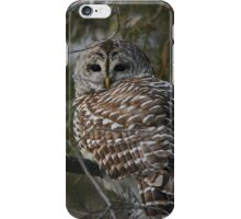 Silent in the snow iPhone Case/Skin