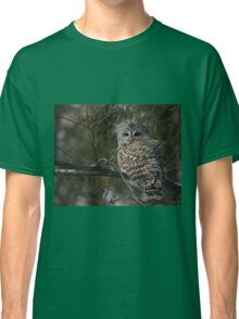 Silent in the snow Classic T-Shirt