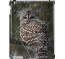Silent in the snow iPad Case/Skin