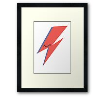 Ziggy: David Bowie Tribute Framed Print