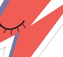 Ziggy: David Bowie Tribute Sticker