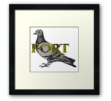 Fort Pigeon Framed Print