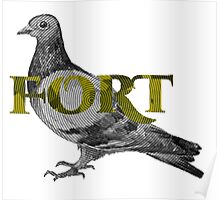 Fort Pigeon Poster
