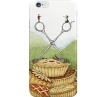 The Barber of Pieville  iPhone Case/Skin