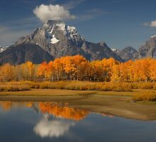 Fall in the Mountains by William C. Gladish, World Design