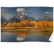 Fall in the Mountains Poster