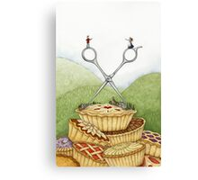 The Barber of Pieville  Canvas Print