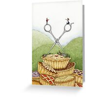 The Barber of Pieville  Greeting Card