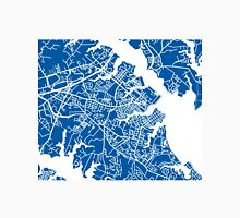 Annapolis Map - Deep Blue Unisex T-Shirt