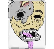 Melted Face 666 iPad Case/Skin