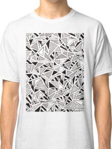 Tonal Triangles Classic T-Shirt