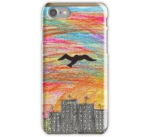 january // 7am the air is coloured iPhone Case/Skin
