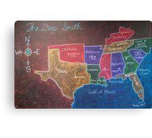 The Deep South Canvas Print