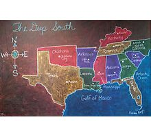The Deep South Photographic Print