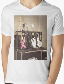 5SOS GUITARS Mens V-Neck T-Shirt